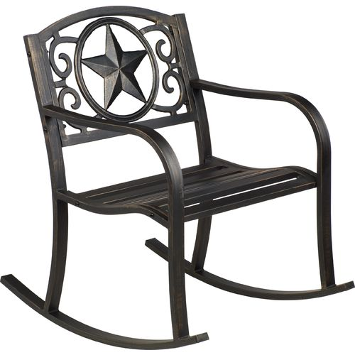 Display product reviews for Mosaic Rustic Star Rocker