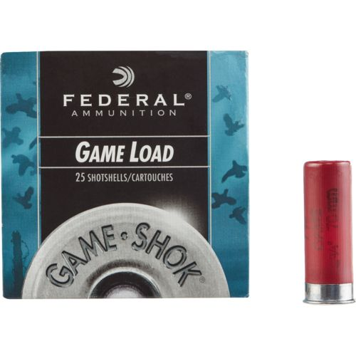 Display product reviews for Federal Premium Ammunition Game-Shok® Game Load 12 Gauge Shotshells