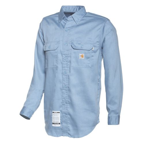 Carhartt Men's Flame-Resistant Work-Dry Lightweight Twill Shirt - view number 1