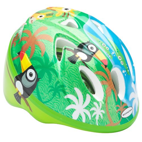Image for Schwinn® Infants' Jungle Bicycle Helmet from Academy