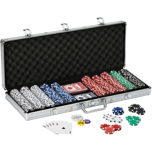 Fat Cat Texas Hold 'Em 500-Count Chip Set