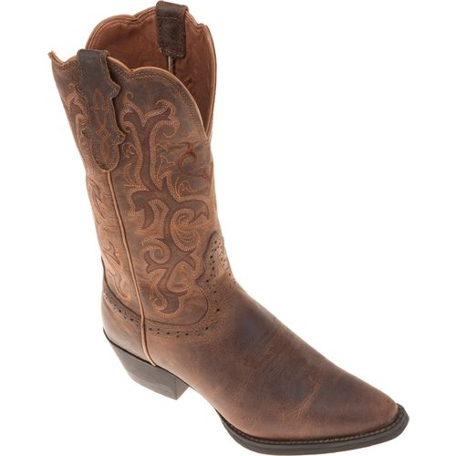 Justin Women's Puma Cowhide Western Boots - view number 2