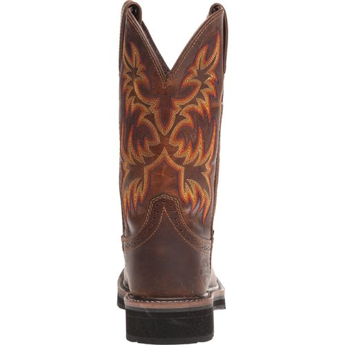 Justin Women's Stampede Rugged Cowhide Steel Toe Western Work Boots - view number 5