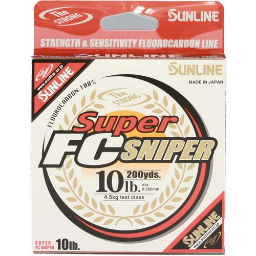 Display product reviews for Sunline Super FC Sniper 200 yards Fishing Line
