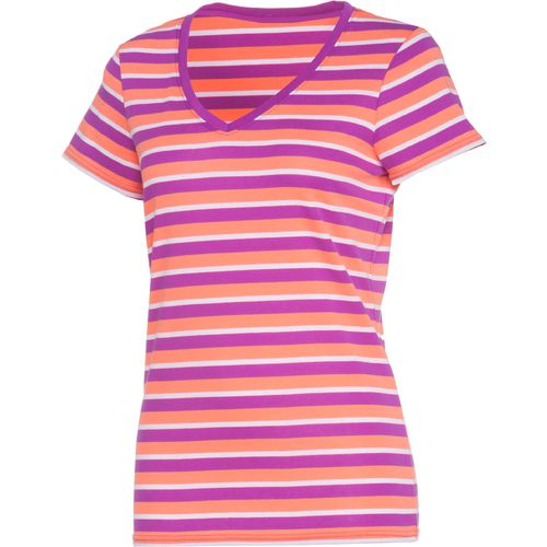 Image for BCG™ Women's Striped Territory V-neck Short Sleeve Top from Academy
