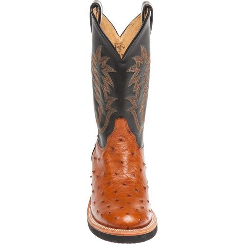 Justin Men's Exotics Full-Quill Ostrich Western Boots - view number 4