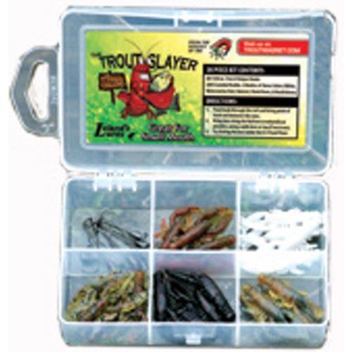 Display product reviews for Leland Lures 28-Piece Trout Slayer Lures Kit