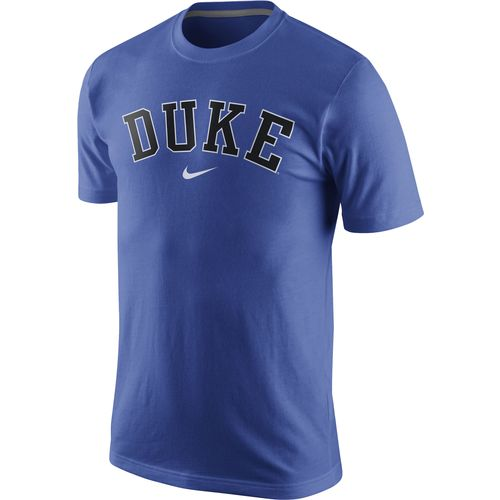 Nike™ Men's Duke University Wordmark Cotton T-shirt