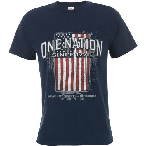 Academy Sports + Outdoors  Men s One Nation Flag T-shirt