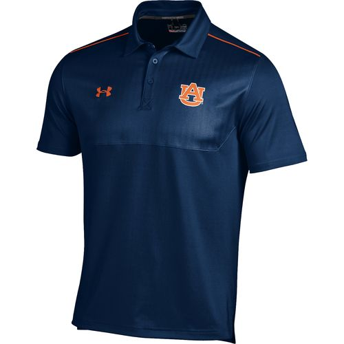 Under Armour  Men s Auburn University Ultimate Sideline Polo Shirt