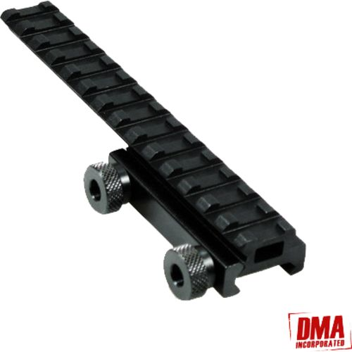 "Display product reviews for Xtreme Tactical Sports 1"" - 2"" Offset AR-15 See-Through Riser Mount"