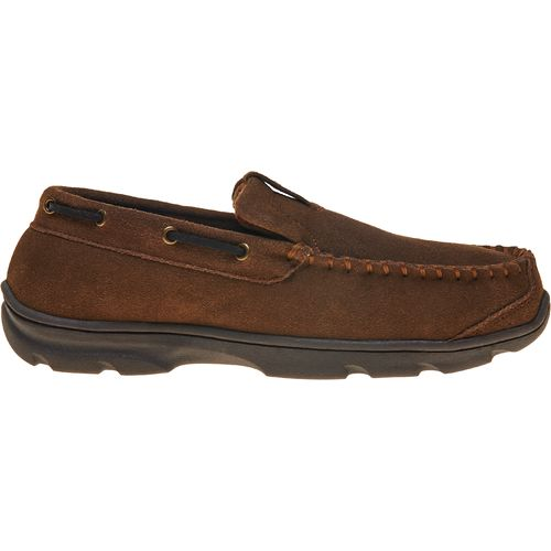 Magellan Outdoors Men's Premium Slip-On Moc Slippers