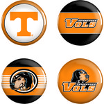 WinCraft University of Tennessee Buttons 4-Pack