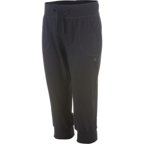 Champion Women s Jersey Banded Knee Pant