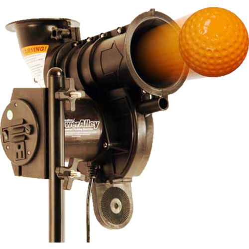 Heater Sports Poweralley Lite Ball Pitching Machine Academy