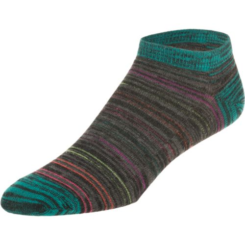 BCG  Women s Multicolor Jewel Tones No Show Socks 6-Pack