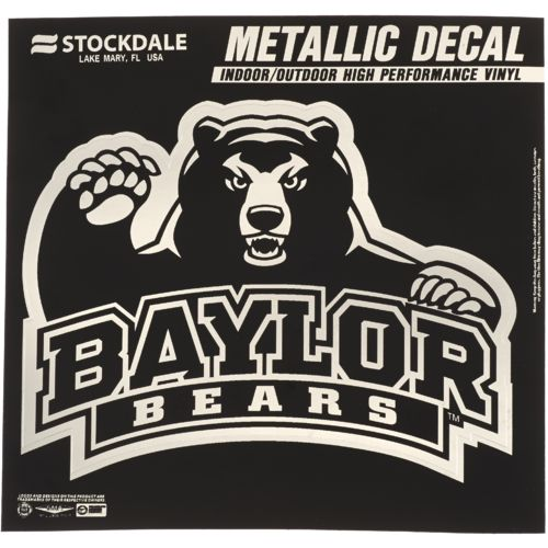 Stockdale Baylor University Metallic Decal
