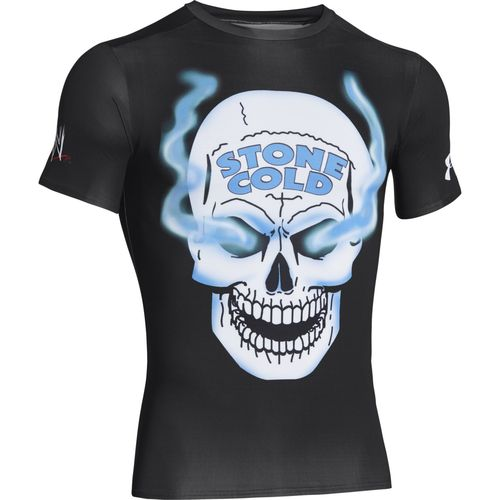 Under armour men 39 s alter ego wwe stone cold steve austin for Under armour cold gear shirt mens