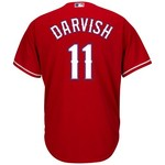Majestic Men's Texas Rangers Yu Darvish #11 Cool Base® Alternate Jersey