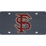 Stockdale Florida State University Carbon Fiber License Plate
