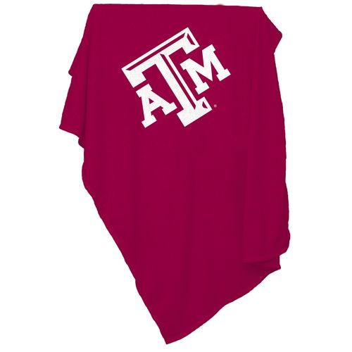Logo™ Texas A&M University Sweatshirt Blanket