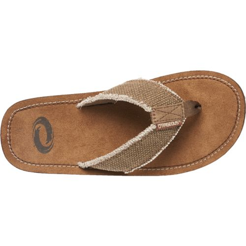 O'Rageous Men's Fray Thong Sandals - view number 4