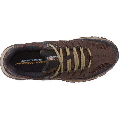 SKECHERS Men's After Burn Memory Fit Training Shoes - view number 4