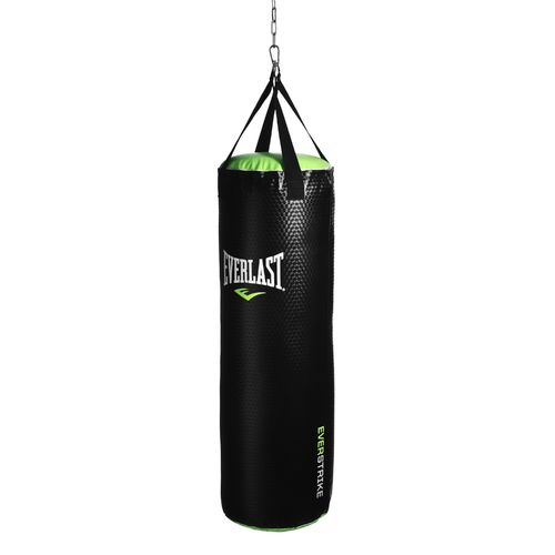 Display product reviews for Everlast® EverStrike 70 lb. NevaTear™ Synthetic Leather Heavy Punching Bag