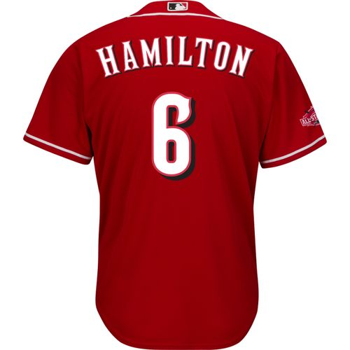 Majestic Men's Cincinnati Reds Billy Hamilton #6 Cool Base® Replica Jersey