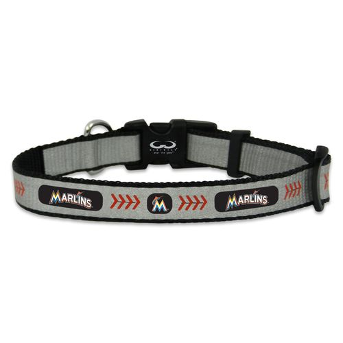 GameWear Miami Marlins Reflective Toy Baseball Collar