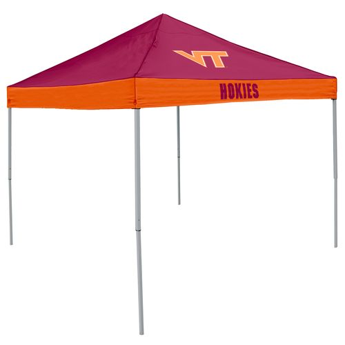 Logo Virginia Tech Straight-Leg 9 ft x 9 ft Economy Tent