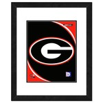 "Photo File University of Georgia 8"" x 10"" Team Logo Photo"