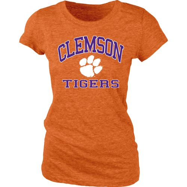 Blue 84 juniors 39 clemson university triblend t shirt academy for Clemson university t shirts