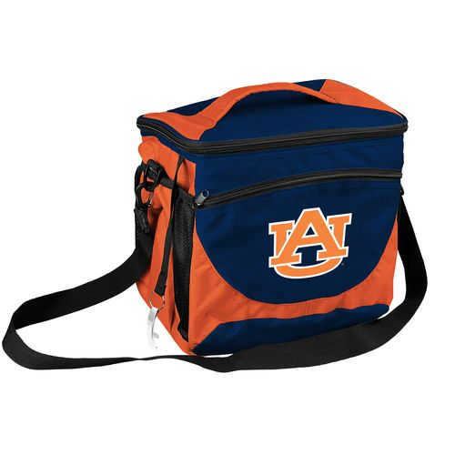 Display product reviews for Logo™ Auburn University 24 Can Cooler