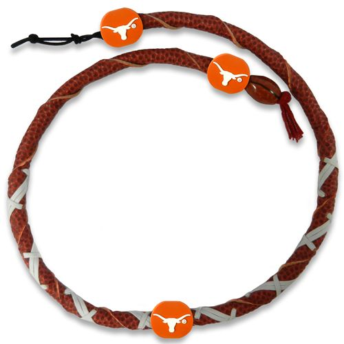 GameWear University of Texas Classic Spiral Football Necklace