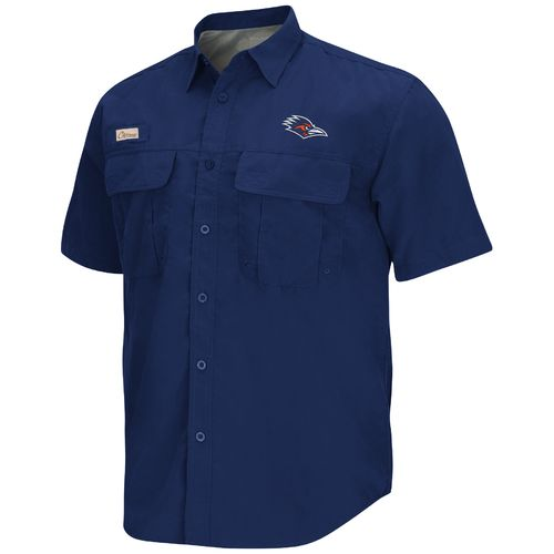 Colosseum Athletics Men's University of Texas at San Antonio Swivel Fishing Shirt