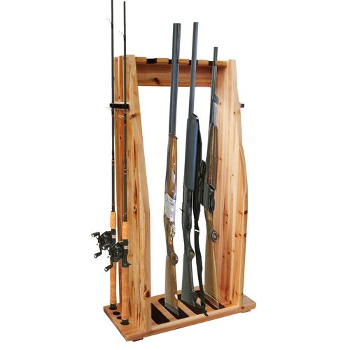 Display product reviews for Rush Creek 4-Gun 8-Rod Combo Rack