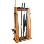 Rush Creek 4-Gun 8-Rod Combo Rack - view number 1