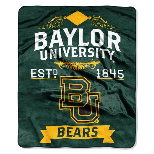 The Northwest Company Baylor University Label Raschel Throw