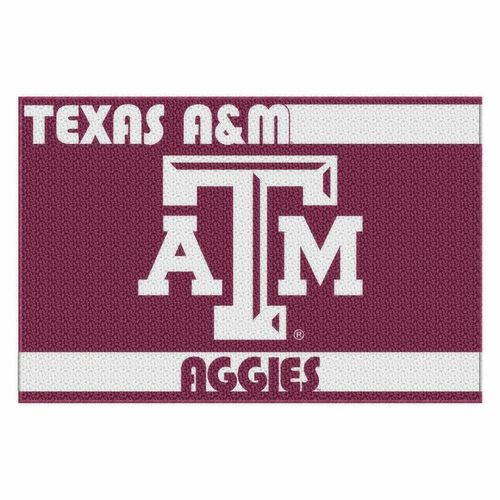 The Northwest Company Texas A&M University Acrylic Tufted Rug