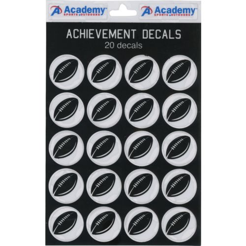 Academy Sports + Outdoors™ Football Decals 20-Pack