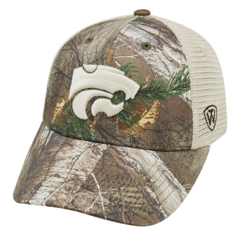 Top of the World Adults' Kansas State University Prey Cap