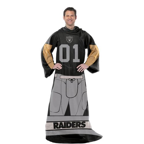 The Northwest Company Oakland Raiders Uniform Comfy Throw