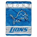 The Northwest Company Detroit Lions 12th Man Raschel Throw