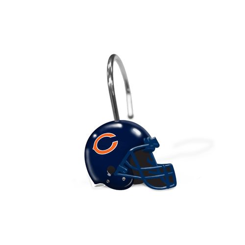 The Northwest Company Chicago Bears Shower Curtain Rings - view number 1
