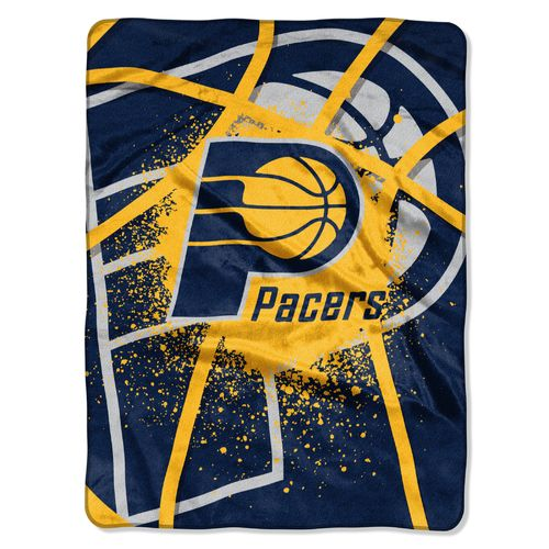 Cheap The Northwest Company Indiana Pacers Shadow Play Super Plush Throw hot sale
