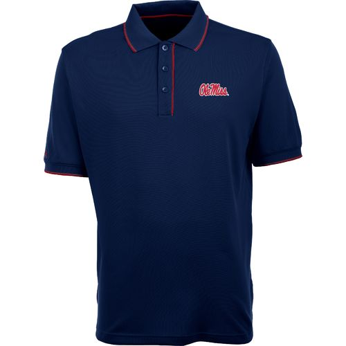 Antigua Men's University of Mississippi Elite Polo Shirt