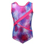 Capezio® Girls' Future Star Blurred Floral Printed Leotard