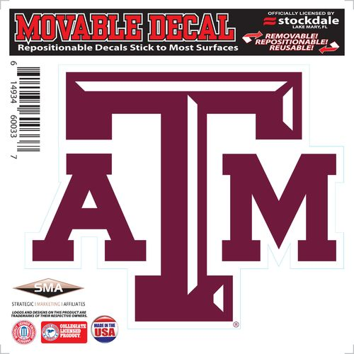 Stockdale Texas A&M University 6' x 6' Decal