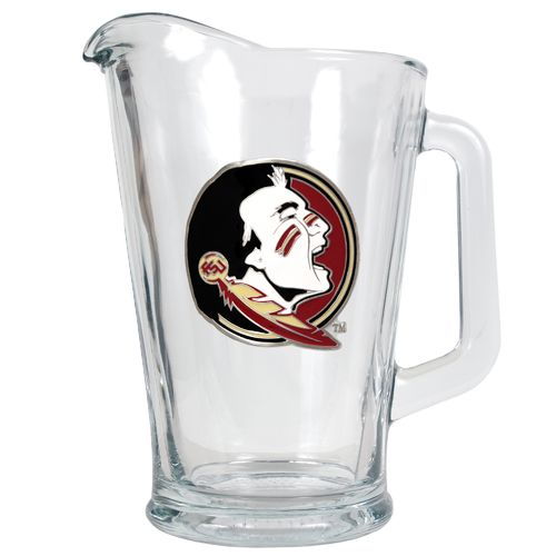 Great American Products Florida State University 1/2-Gallon Glass Pitcher